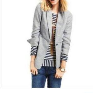Cabi Plus Size Linen Blend Jacket